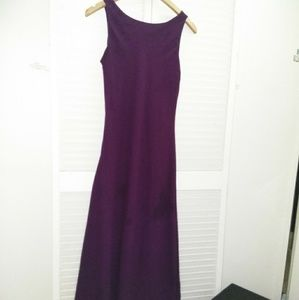 VTG   Burgundy Paige maxi dress